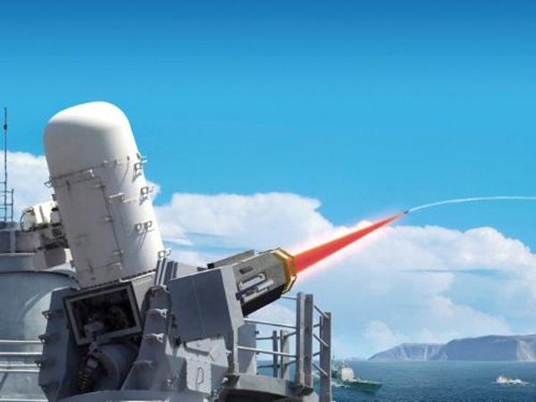 """雷声公司""""密布阵-激光武器体系""""击落海上无人机"""