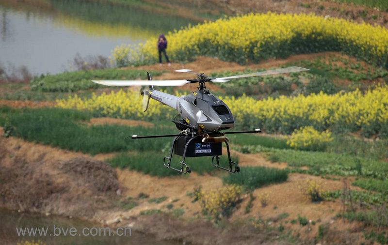 无人直升机低空高精度三维激光遥感系统