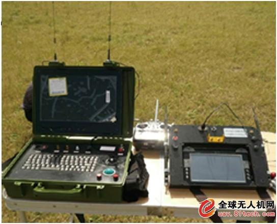 地面控制系统软件在无人机飞行前进行任务航路规划,在无人机飞行过