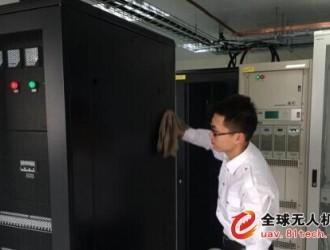 安徽芜湖海事局使用无人机房巡检工作