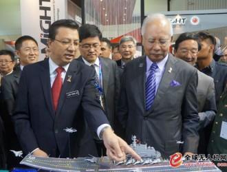 中国军工亮相马来西亚国际海事及航空航天展
