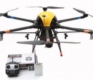 天途M8A农用多旋翼植保无人机载重10kg
