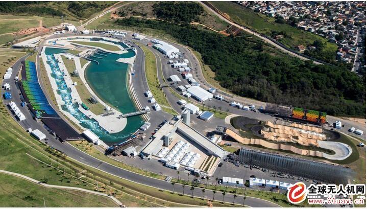无人机航拍2016年巴西里约奥林匹克运动会场