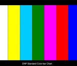 DNP Standard Color-barChart彩条卡