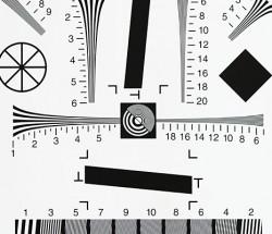 ISO12233测试卡0.5倍1倍2倍4倍8倍4000线