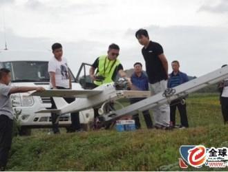 先后起降38次 吉林延边启用无人机抢险救灾
