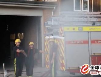 斯威普科技无人机应用于英国消防救灾