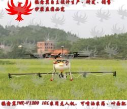 【猛禽翼】六旋翼农用植保机器10KG施肥/喷