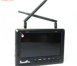 斯威普7寸显示屏450cd 航拍FPV液晶屏内置电池