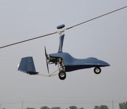 无人自转旋翼机 有效载荷:240kg