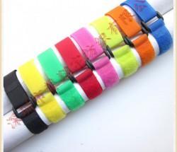 厂家直销彩色方扣魔术贴绑带 绑书带 航模