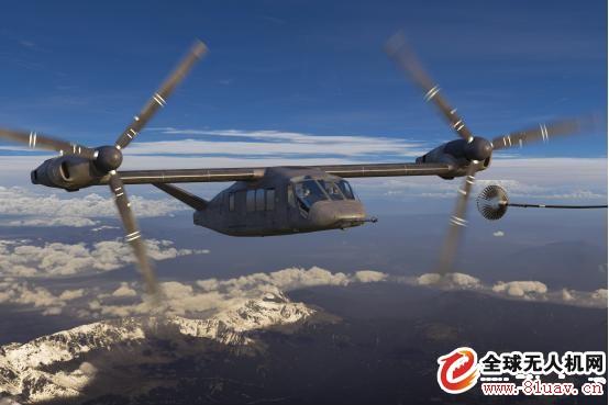 贝尔新的V-280倾转旋翼机隐身特性工程规划