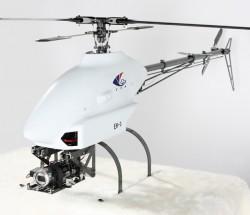 EH-3电动无人直升机载重6公斤飞行时间50分