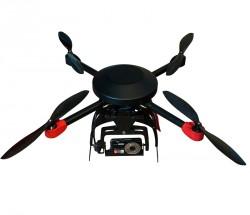 四旋翼便携式航拍系统 自主悬停,航点跟踪,自动返航