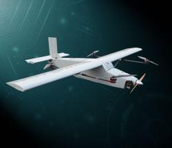 龙雁LY-3200油电混合动力固定翼垂直起降无人机载重4公斤续航时间4小时