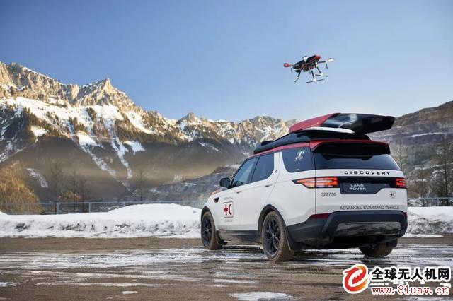 捷豹路虎推出能起落无人机的SUV车Discovery