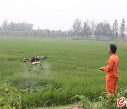 内蒙古助农航空承接无人机植保作业农药喷洒