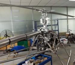 天之翼油电混合动力植保无人机TZY-50 载药50公斤