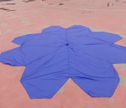 8-10kg载重无人机降落伞 回收伞十字形伞 544伞布包邮