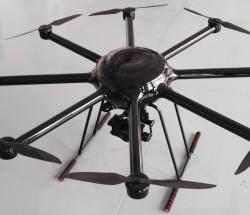 智慧蜂八旋翼工业级无人机 有效荷载 5KG续航60分钟