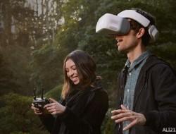 给你体验无人机飞行视角:大疆VR飞行眼镜2999元上市