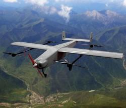 正唐科技赤龙-9 油电混合复合翼垂直起降无人机最大航程400公里