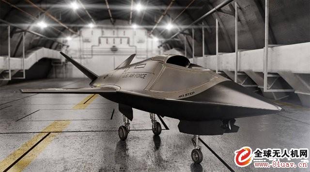 美国空军研讨实验室发布低成本隐身无人机概念图