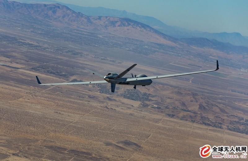 通用原子公司MQ-9B无人机创造48.2小时续航飞行记录