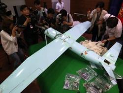 """韩媒称朝鲜""""解剖""""朝无人机:用7国零件续航力"""