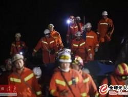 四川茂县山体垮塌现场救援持续!无人机支援一线