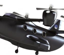 灰象™无人机载重500kg续航10小时