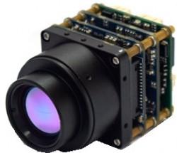 红外热成像测温机芯,网络输出视频,体积小