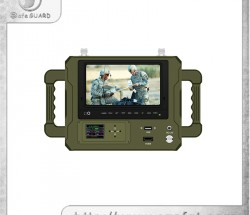 HD-1080P COFDM户外军规手持式高清图像接收机  实时观看视频传输器
