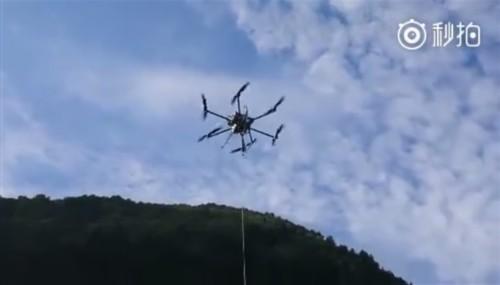 华为无人机基站为地震灾区提供通信保障