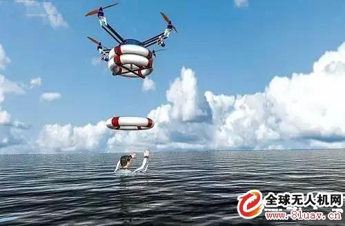 无人机--无人机成为水上救生卫士