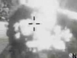 英军曝光无人机轰炸IS处决现场画面