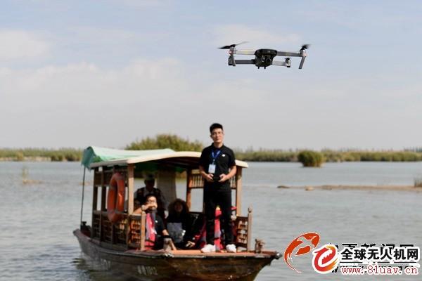 宁夏沙湖创立无人机友爱型景区