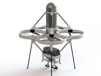 Jupiter-H2氢燃料电池无人机 充电数分钟续航两