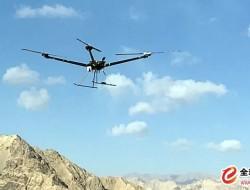 """""""察敌""""XM20变距四旋翼无人机海拔4600米满载起"""