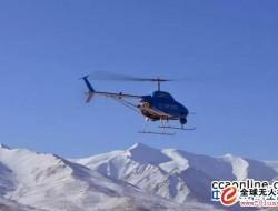 AV500无人直升机和察敌XM20无人机在青藏高原成