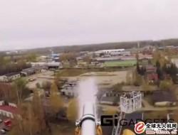 消防无人机,水带提升高度超普通云梯消防车!