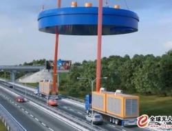 新型大载荷运输无人机,吊起近百吨货物