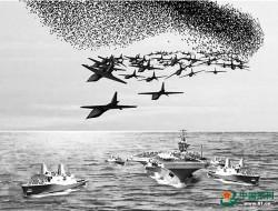 国防科大智能科学学院试验无人机集群自主作战