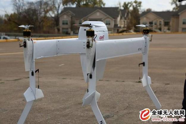 贝尔公司进军无人运输机业务,载重或可达450千克