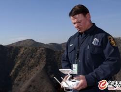 大疆无人机在洛杉矶消防局又惊艳美国了一把