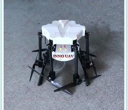 INNOUAV定制植保机10KG多轴无人机喷洒农药遥控飞机