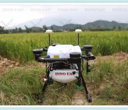 INNOUAV定制无人机10KG植保机四轴遥控飞机折叠测绘机