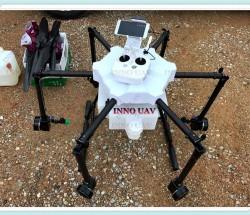 INNOUAV无人机15KG植保机六轴折叠喷洒农药遥控飞机