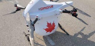 """加拿大开发X1000""""麻雀""""货物快递无人机"""