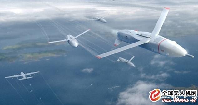 """美国防部无人机机群项目""""小精灵""""预计2019年试飞,两家公司竞标"""